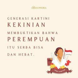 Selamat Hari Kartini, Beauphorians 💕Dan terutama, terima kasih kepada RA Kartini telah menolong kami sampai sekarang. Karena jika tidak tidak ada wanita seperti kamu, kita tidak akan menjadi kita seperti sekarang.#beauphoria #beauphoriababe