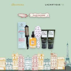 Beauphoria and @lazartigue_id proudly present Parisienne 💕 Specially packaged to meet both of your hair-styling and hair-care needs.Swipe left for both packages details 😊💕 Available to shop through our: @tokopedia, @shopee_id, and @bliblidotcom#beauphoria #beauphoriababe #beauphoriaxlazartigue