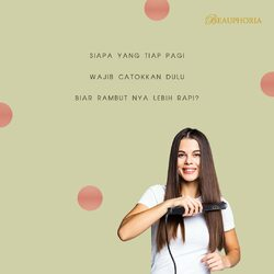 [SAVE THIS!] An ultimate duo to help you style your hair on daily basis 💕 On the images above:✨Red Straightphoria✨ Straightener with infrared technology. Gentle heal so it's safer for hair 😊✨DIY Detangler Brush✨ Soft, thin, flexible and strong brush to detangle messy and stubborn hair#beauphoria #beauphoriababe